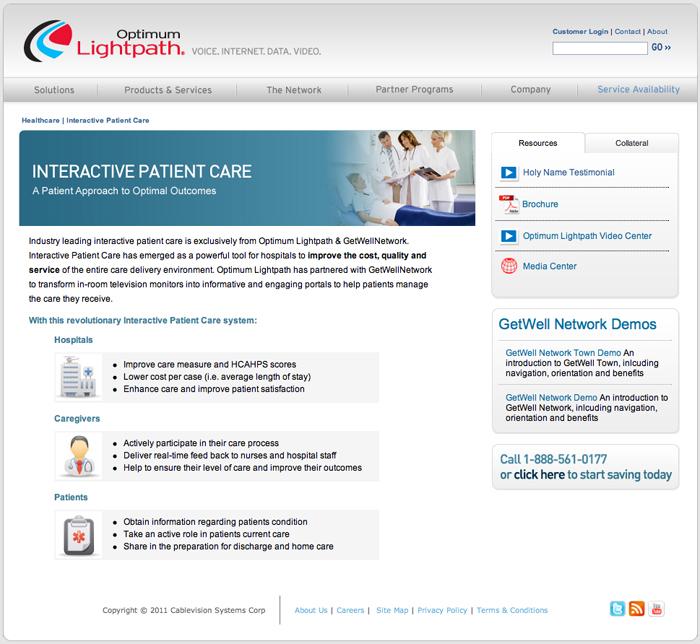 INteractive Patient Care WEB